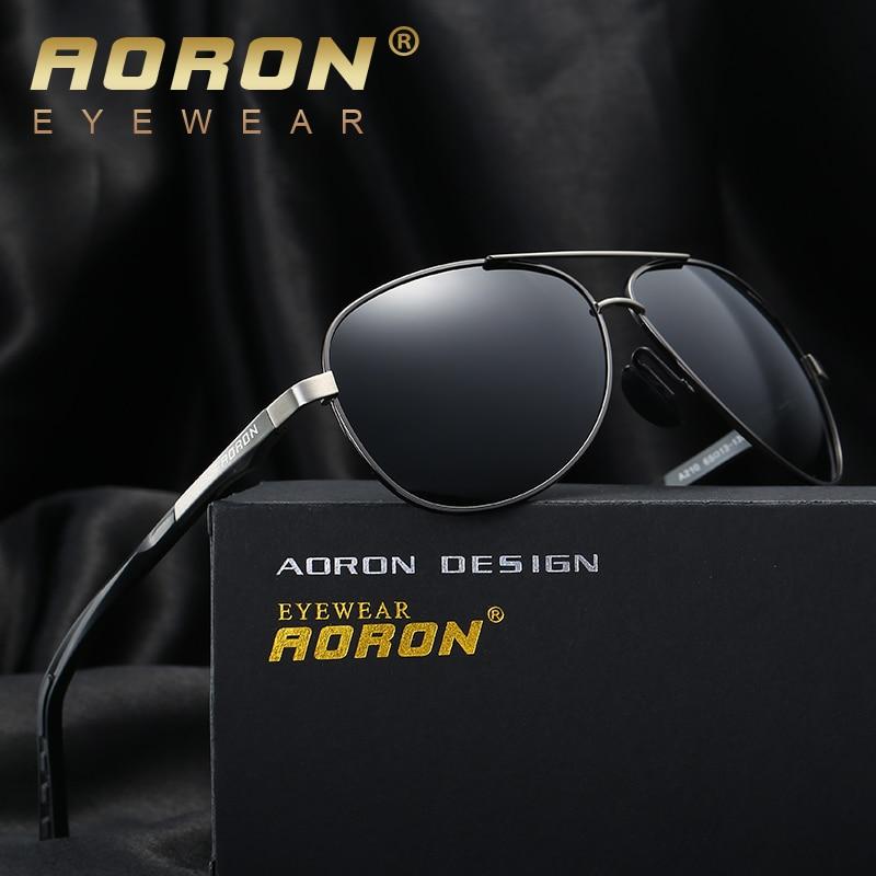 AORON 2017 Men Brand Designer Driving Classic Polarized Sunglasses Goggles UV400 Pilot Eyewear Sun Glasses oculos de sol A210<br><br>Aliexpress
