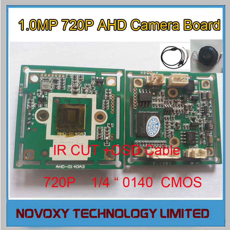 DIY 2000TVL AHD 1.0MP  720P 0140+2431H DSP Analog CCTV PCB Board Camera Module with IR CUT OSD C Free Shipping<br><br>Aliexpress