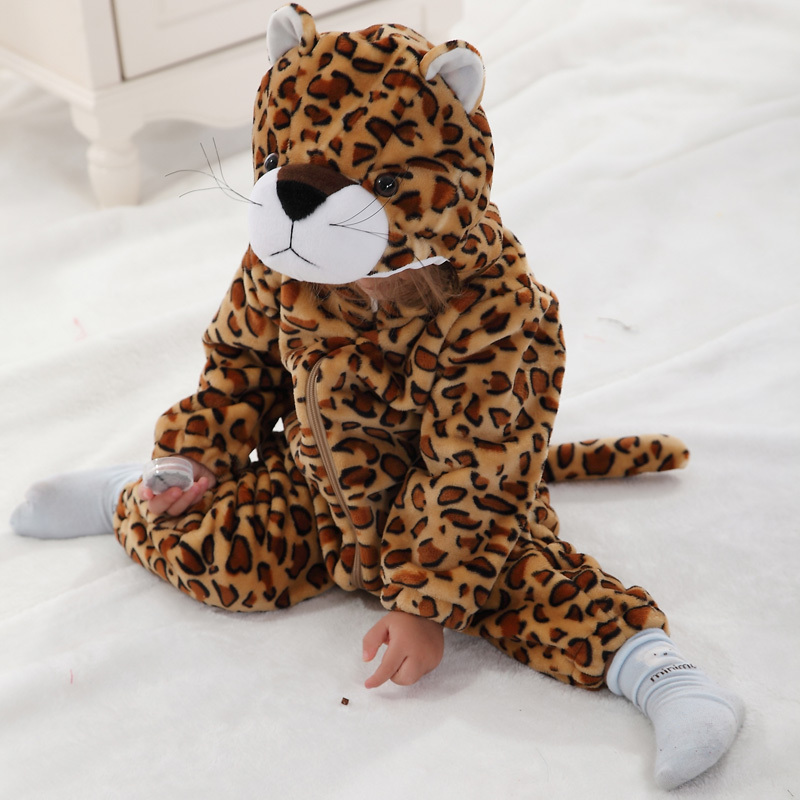 2017 Hot New Spring Autumn Baby Clothes Cotton Flannel Baby Clothing 3D Cartoon Animal Rompers Baby Boys Girls Jumpsuit<br><br>Aliexpress