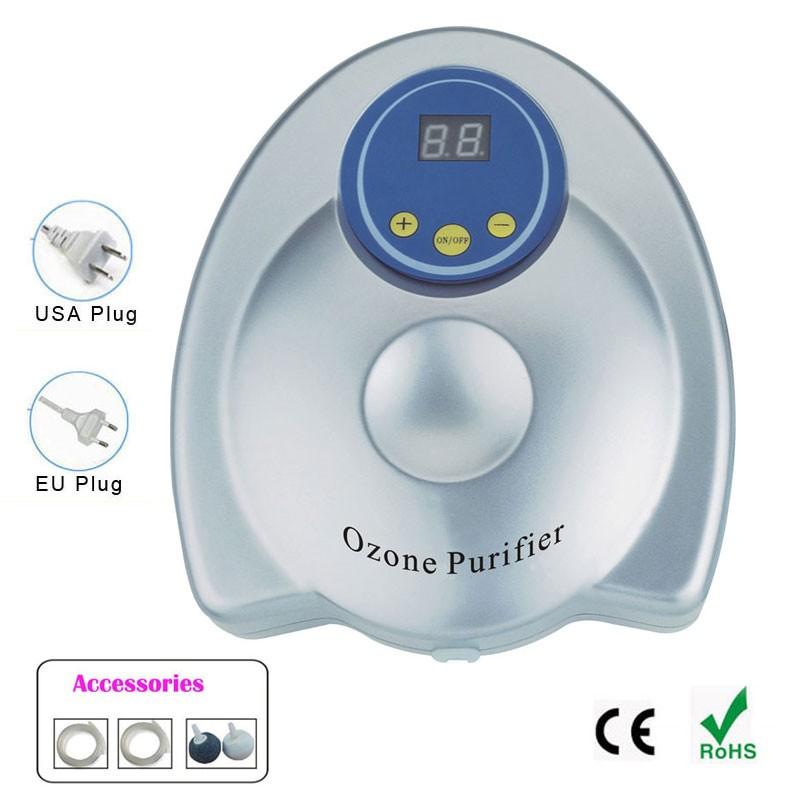 Ozone Generator Air Purifier Ozonizer Aquarium Aquario Portable Oxygen Concentrator Purificador De Aire Digital Timing <br>