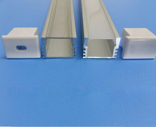 LP003 aluminium profile for led strips led strip aluminum channel housing(China)