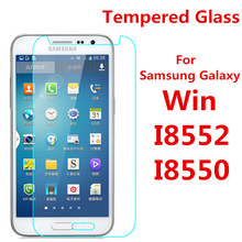 Screen Protector Film 0.3mm 9H 25D Front Premium Tempered Glass For Samsung Galaxy Galaxy Win i8552 8552 GT-I8552