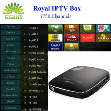 Arabic IPTV Box CSA96 1 Year RoyalTV/ESUNTV/LuckyTV Configured Europe Sweden 3G/32G Android 6.0 TV - E-SUN Technology store