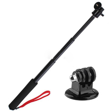 Pole Handle Handheld Monopod Ski + Tripod Mount for Gopro Hero HD 2 3 Telescopic