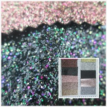 glitter pieces GREAT style synthetic leather fabric PVC faux leather textile fabric 11 color for bag decorative leather fabric(China)