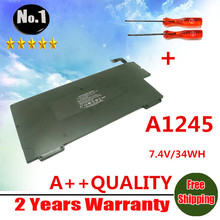 "wholesale  New 37WH Laptop Battery For Apple MacBook Air 13"" A1237  A1245 Free shipping"
