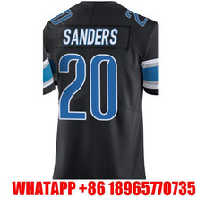 Men's #9 Matthew Stafford #20 Barry Sanders Jerseys Adult Rush Limited Jersey Embroidery Logos and 100% Stitched Free Shipping