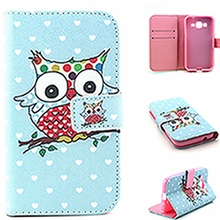 Luxury Wallet PU Leather Phone Cover Flip Shell Back Cover & Card Holder Stand Cell Phone Case For Samsung Galaxy G360/G530