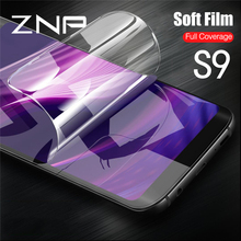 Buy ZNP 3D Curved Full Cover Screen Protector Samsung Galaxy S9 S8 Plus Note 8 S7 S6 Edge Soft Protector Film Tempered Glass for $1.32 in AliExpress store