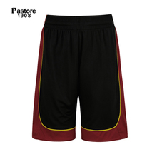 Pastore1908 brand mens Basketball Shorts quick dry breathable running sports short europe sizeS-4XL name custom jersey balck306B(China)