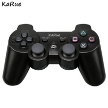 KaRue WirelessControllers for PS 3 Bluetooth Gamepads Gaming Gamep Controllers Joystick for PlayStation 3 PS3 Double Vibration(China)
