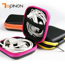 Mini Wire Storage Box Earphone Holder EVA Storage Bag Case Organizer Cable SD TF Card USB Cable Flash Drive Digital Container(China)