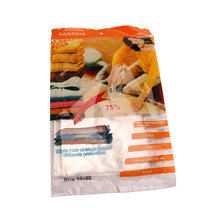 New Space Saver Saving Storage Vacuum Seal Compressed Organizer Package Bag Vacuum Bags For Clothes(China)