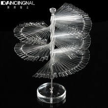 Professional 120 Stick Nail Art Clear Large Display Stand Spiral Display Shelf Practice Tools For Solon Nails Polish Gel Show