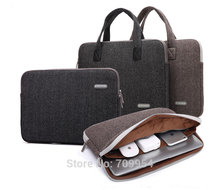 "Nylon 11""13""14""15""17"" Laptop Handle Sleeve Carry PC Bag Case For Macbook Acer HP"