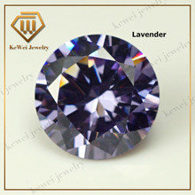Loose CZ Stone AAAAA 0.9mm-3.75mm Synthetic Gems Zircon Stone Lavender Cubic Zirconia Stone For Jewelry