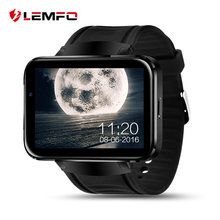 LEMFO LEM4 Android OS Smart Watch 2.2 inch Screen 512MB + 4GB Support nano SIM card Bluetooth Wifi GPS map Tracking