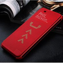 Luxury Ultra Flip Smart Slim Dot View Case Cover For HTC Desire 820 D820us d820u TPU sleep function phone cases