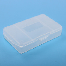 1pieces / lot hard clear plastic cases for Nintendo gameboy Advance GBA SP GBM GBA Games Card Cartridge (box)