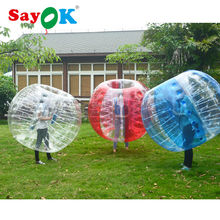 Free shipping human inflatable bumper bubble ball giant diameter 1.5m inflatable soccer bumper footballs made of 1.0mm PVC sales(China)