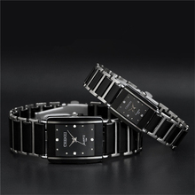 Fashion Men Quartz Steel Watch Couple Wrist Watches Luxury Women Lovers Watches High Quality Stainless Steel Mechanical Watch(China)