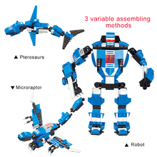 20Thunderbolt Blocks 3 1 Deformation Robot Model Building Sets Assembly Children Educational Toys Gift - KingToys Store store