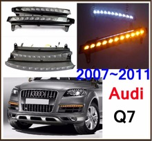 Q7 daytime light;2007~2011, Free ship!LED,Q7 fog light,2ps/set;Q7 day light,A4,A5,A8,Allroad,Quattro,Q3,Q5,Q7,S3 S4 S5 S6 S7 S8(China)