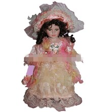 40cm retro porcelain doll my lady ceramic dolls Exquisite fashion, European, Victorian style, porcelain doll simulation doll