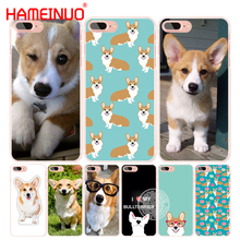 HAMEINUO pembroke welsh corgi puppies cell phone Cover case for iphone 6 4 4s 5 5s SE 5c 6 6s 7 8 X plus(China)