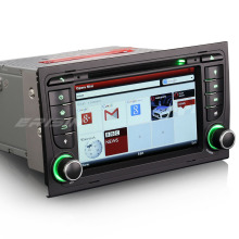 "7"" Special Car DVD for Seat Exeo 2009 2010 2011 2012 with External Car Recorder Support & 500GB Mobile Hard Disk Support"