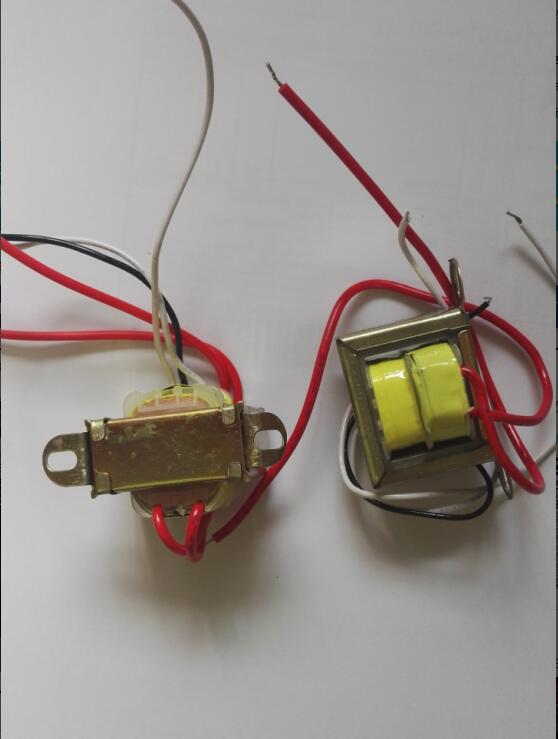 3W Power transformer Input(red): AC 220V 50Hz/output: double AC 12V(China (Mainland))