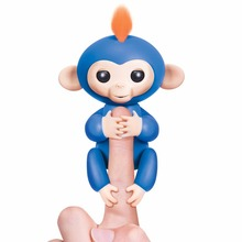 Colorful Ever Cute Finger Monkey Toy Best Gifts for Children Kids Fingerlings Interactive Baby Monkeys Smart Induction Toys