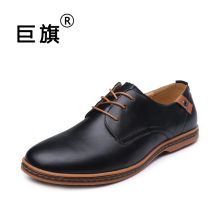 2017 fashion men casual shoes new spring men flats lace up male business oxfords men leather shoes zapatillas hombre