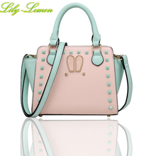 Luxury Leather Women Handbag Satchels High Quality Ladies Shoulder Bag Small Korea Teen Girls Purse Flap Tote Female Blosas S002