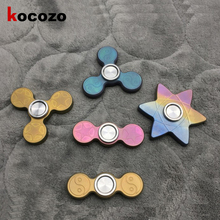 Buy 2017 Tri-Spinner Fidget High-Speed Hand Spinner Triangle Titanium Alloy Steel Balls Bearing Finger Fidget Toy Anti Stress for $49.31 in AliExpress store