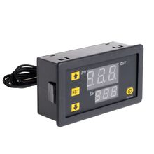 Temperature Controller Relay Dual Digital LED Display Heating/Cooling Regulator Thermostat Switch(China)