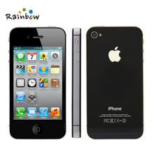 Apple iPhone 4S Original Factory Unlocked 3.5 Screen 16GB / 32GB Storage Dual Core Cell Phones(China)