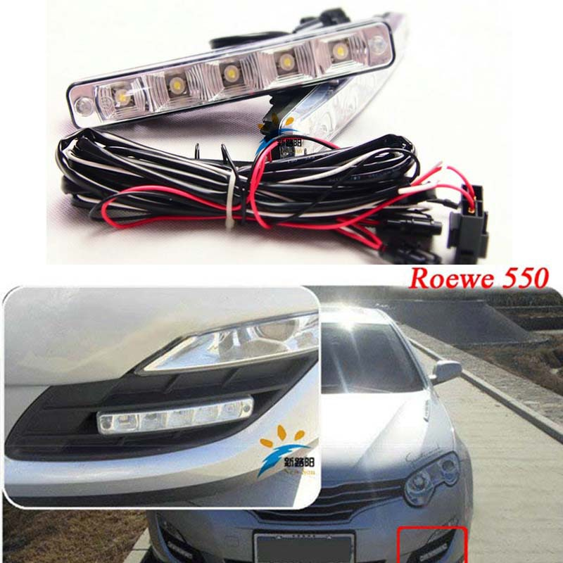 Free shipping 2016 big discount Bright 10W LED Car Light White DRL LED Daytime Running Light LED Fog Light Head Lamp cheap price(China)