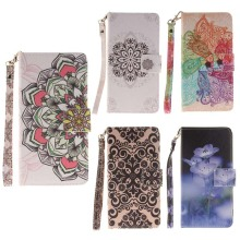 Gorgeous Flower Case for Sony Xperia Z3 Compa Cover Z2 Coque PU Leather Flip Wallet Case for Sony Xperia Z2 Z3 Compact Phone Bag