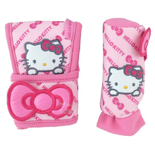 Pink Car-Styling Hello Kitty Car Seat Covers Interior Accessories Handbrake Gears Cover Safty Belt Back Support Cushion