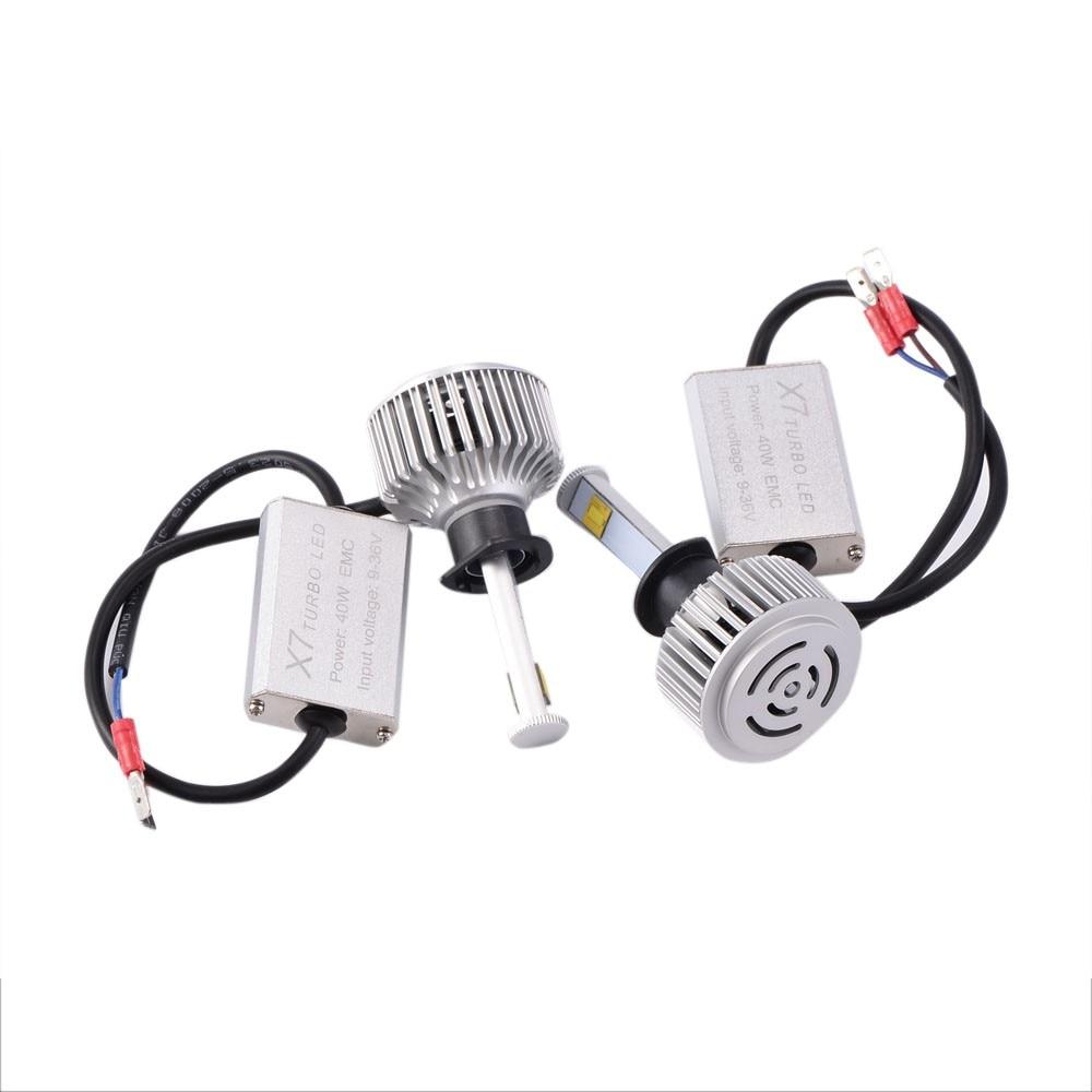 12V Car LED Light Headlight 80W Car Lights Conversion Kit H1/H3/H4/H7/H11/H13/9005/9006<br><br>Aliexpress