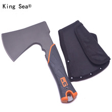 King Sea BG Tactical Axe Top Quality Outdoor Hunt Camping Axe Fire Axe Tactical Axes Tool handmade Hatchet Survive Axe Tool(China)
