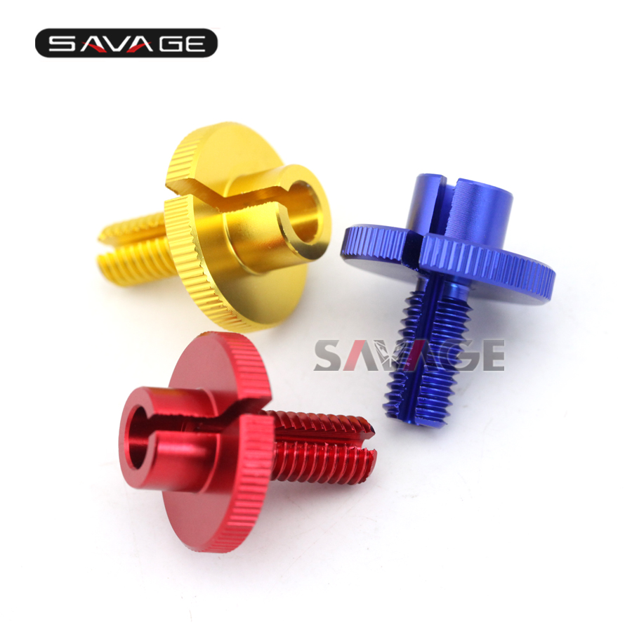 For SUZUKI GSXR GSX-R 600/750/1000 GXS-R600 GSX-R1000 Gold/Blue/Red Motorcycle CNC Billet Clutch Cable Wire Adjuster M10x1.5<br><br>Aliexpress