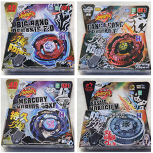 New Arrive!! Mix 32 Style 8 pcs/lot  4D Metal  Beyblade Brazil USA Hot Sale Toys Flight Big Bang  Beyblade