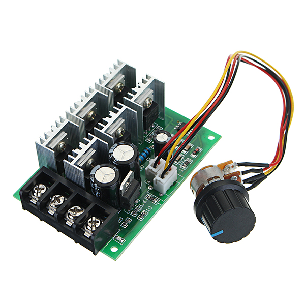 Air Conditioner Parts Reasonable High Power 40a Dc Motor Speed Regulator 9v-60v Pwm Universal Motor Drive