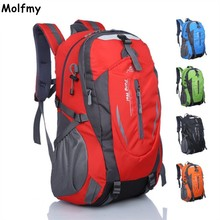 Waterproof Outdoor Climbing Backpack Women&Men Hiking Athletic Sport Travel Backpack Climbing Bags High Quality drop shipping(China)