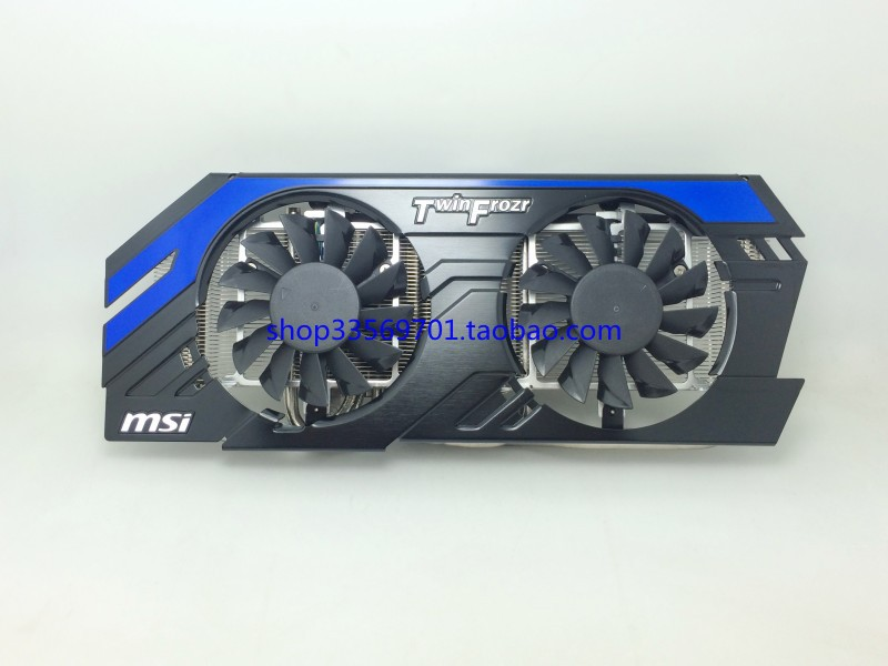 New Original MSI HD7870 R7870 HAWK 2G card five original radiator heat pipe radiator cooling fan<br><br>Aliexpress