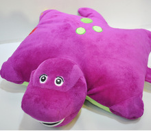 Barney the purple dinosaur Barney pillow cushions stuffed plush Toys Dolls For Girls birthday Gifts