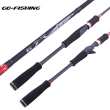 Go-Fishing Carbon MH Spinning rod 2.1m Baitcasting rod MH Lure rod Power Fishing Rod Carp Feeder Surf Lure Fishing