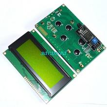 IIC/I2C 2004 LCD Display Module Yellow Green Screen
